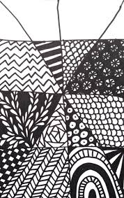 Easy Zentangle Patterns Delectable Quick And Easy Tangle Drawing Craftwhack