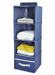 Amazoncom iwill CREATE PRO 4 shelf Hanging Closet Organizer with