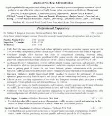 Medical Office Manager Job Description For Resume