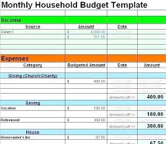 Printable Household Budget Worksheets Budget Sheet Template Free Printable Project Budget Graph Template