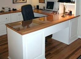 home office shaped. U Shaped Home Office Desk Custom For Interiors