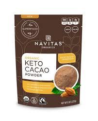 If you want it sweet, you can add natural sweeteners like. Keto Cacao Powder Navitas Organics