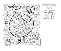 Posh Coloring 2016 Day To Day