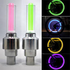Us 0 4 5 Off Bike Light Mountain Road Bicycle Tyre Tire Valve Caps Lights Mtb Spokes Led Wheel Cycling Bicycle Accessories Light In Bicycle Light