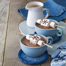 Image result for hot chocolate with marshmallows
