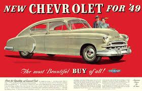 Cohort Classic: 1949 Chevrolet Fleetline Special Two Door Sedan ...