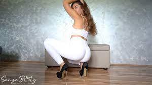 White Girl Twerk Leggings