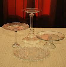 Cheesecake Display Stands JunkinJane Repurposed Glass = Cheesecake Wedding Cake 75