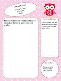 february newsletter template valentine themed february newsletter template editable by ms r turner
