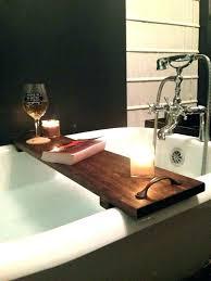 bath tub shelf bathtub shelf bathtub tray for laptop shelf reading tub pole