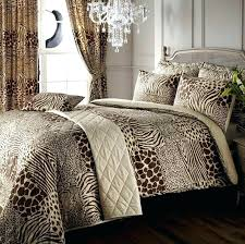 leopard print curtains leopard duvet cover safari animal print super king duvet cover curtains regarding leopard