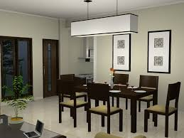 perfect modern dining room chandelier design with rectangular dark brown contemporary table set idea chair lighting