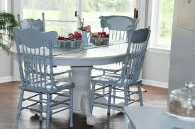 painting your kitchen table and chairs with pat mcdonnell paints