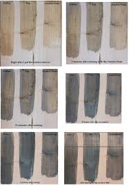 Grey Wash Wood Stain How To Oxidize Wood Vinegar Wood Stain And Steel Wool