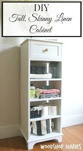 diy storage furniture. How To Build A DIY Tall Skinny Storage Cabinet Diy Furniture S