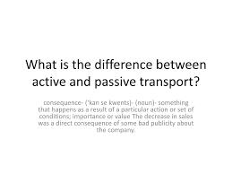 Active Vs Passive Transport Venn Diagram Active And Passive Transport 60564638974 Active And Passive
