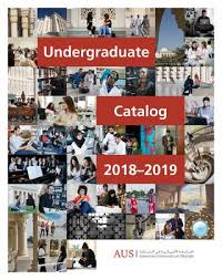 Undergraduate Catalog 2018 2019 By American University Of