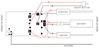how to install 27 mhz or 40 mhz rc boat receiver use this diagram to correctly connnect your rc boat receiver