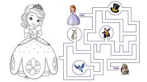 Small Picture Sofia The First Holiday Coloring Pages Coloring Pages