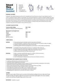 medical resumes resume resumes medical assistant resume skills in examples of medical resumes