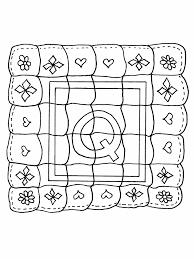 Q Quilt Alphabet Coloring Pages & Coloring Book & Q Quilt Alphabet Coloring Pages Adamdwight.com