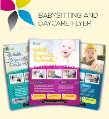 Samples Of Daycare Flyers 20 Beautiful Babysitting Flyer Templates Creatives Word