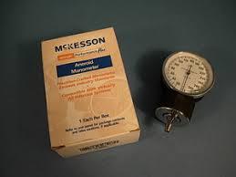 aneroid manometer. mckesson 01-809gm aneroid manometer m
