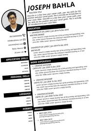 Great Cv Examples 2019 Cv Examples Archives