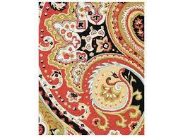 loloi rugs francesca fc 09 rectangular red black area rug llfracfc09reblrec