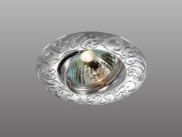 <b>Встраиваемый светильник Novotech Henna</b> 369642 Серый,Хром ...