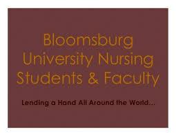 Nurses Christian Fellowship Bloomsburg University
