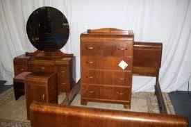 antique art deco bedroom furniture. Art Deco Bedroom Sets Vintage Furniture Collection Set Antique Waterfall R