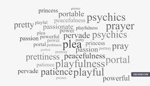 list of positive words that start with