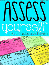 Student Self Assessing With Levels Of Understanding | Life In Fifth ...