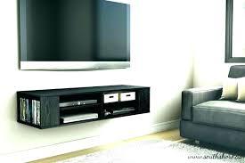 Coloured Floating Shelves Inspiration Floating Tv Shelf For Wall Floating Shelf Glass Shelves Wall Mount