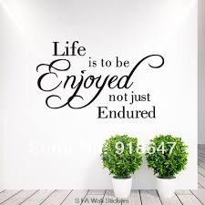 English Quotes Classy Wholesale New High Quality English Quotes Wall Stickers Life Is To