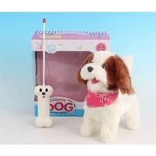 <b>Радиоуправляемая</b> плюшевая собака <b>Create Toys</b> Болонка ...