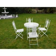 swanky furniture. buy white 4 seater dining set patio swanky interiors furniture