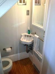 adding a shower to a half bath add shower to half bath installing in basement bathroom