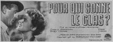 """Résultat de recherche d'images pour """"pour qui sonne le glas film 1943"""""""