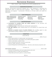 Resume Example Of Administrative Assistant Resume
