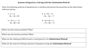 substitution task
