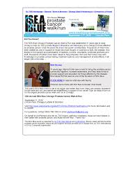 Did You Know? The SEA Blue Chicago Prostate Cancer Walk & Run was  established 11 years ago to raise money