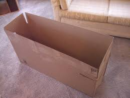 picture of build a cardboard box