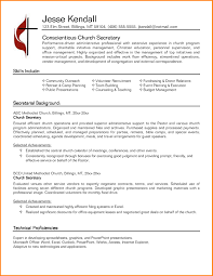 Template 6 Secretary Resume Templates Top 2017 Top Resume