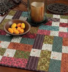 Best 25+ Quilted table toppers ideas on Pinterest | Quilted table ... & easy table topper pattern free | ... topper are included in the free pattern Adamdwight.com