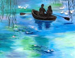 monet s love is our coffee canvas painting on valentine s day join us at painting with a twist indy