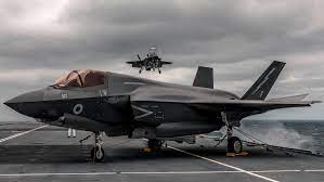 F-35 fully loaded with weaponry for ...