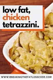 lean turkey or en tetrazzini