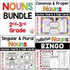 Common And Proper Nouns Singular Plural Collective Bundle